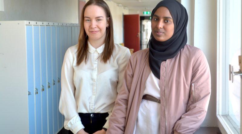 Hilja-Maja och Salsabil satsar på Sveriges Ungdomsråd