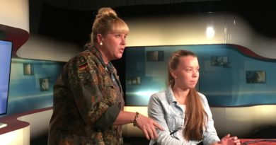 Webbtidningens redaktion besökte Sveriges Television i Luleå